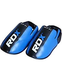 RDX Bottes Demi Contacts Kick Boxing Taekwondo Arts Martiaux Sparring Chaussures