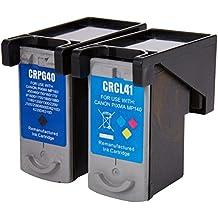 Prestige Cartridge 2 x PG-40 CL-41 Cartuchos de tinta, color y negro