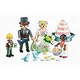 Playmobil 6459. Pareja de novios con niños y tarta nupcial. Especial tarta de boda