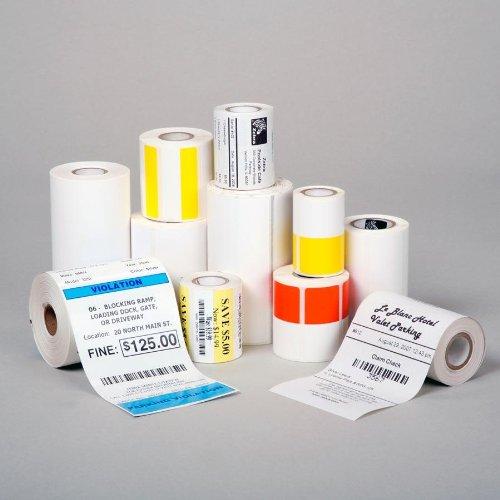 Zebra Z-Select 2000D, Etikettenrolle, Thermopapier, 57x32mm, Premium beschichtet, 2100 Etiketten/Rolle, perforiert, Verpackungseinheit: 12 Stück, 800262-125