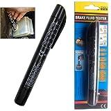 Brake Fluid Tester Pen 5 LED Moisture Water Compact Tool...