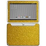 atFolix Samsung Galaxy Note 10.1 (2012 Edition) Skin FX-Glitter-Gold-Rush Designfolie Sticker
