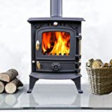 Lincsfire 5.5KW Cast Iron Wood Log Burner Wood Burning Stove Multifuel Fireplace Woodburner