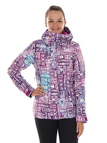 O'Neill Skijacke Snowboardjacke Kapuzenjacke lila Patrol Hyperdry warm (S)