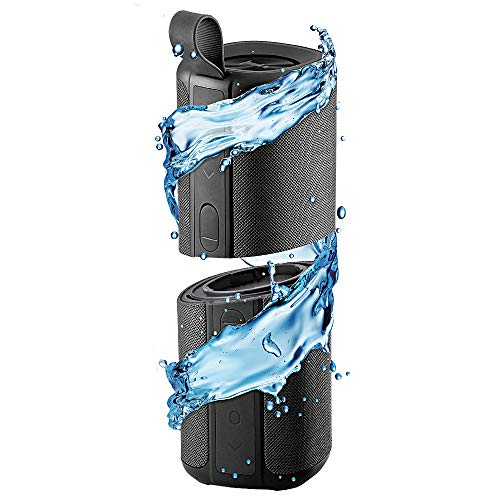 iBall Musi Twins - TWS Waterproof IPX7 Bluetooth Speaker (Black)