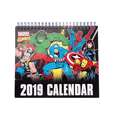 Grupo Erik Editores cs19006-Kalender Desktop-2019Marvel Comics, 17x 20cm