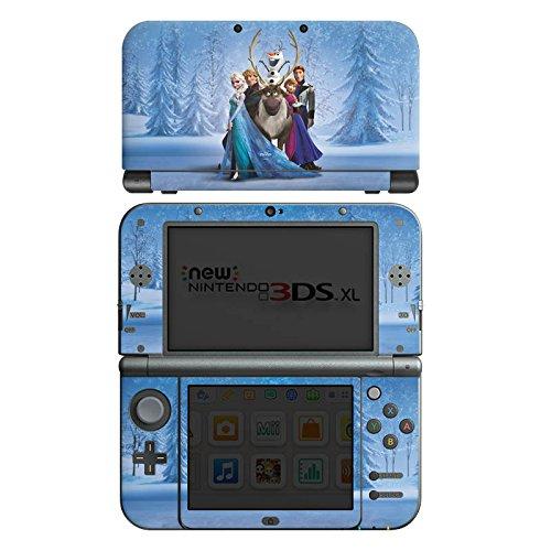 DeinDesign Skin kompatibel mit Nintendo New 3DS XL Aufkleber Sticker Folie Disney Frozen Geschenke Fanartikel