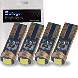 Safego 4x T5 74 73 2723 2721 Wedge LED Bulb For Car Auto