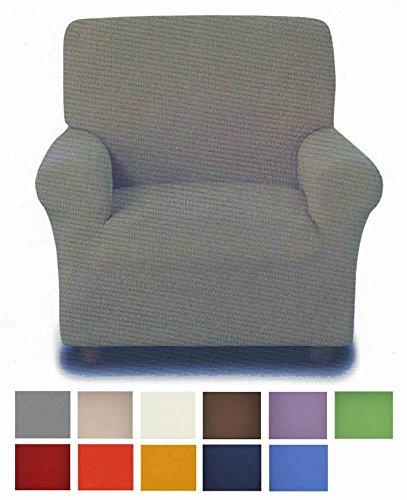 Antimanchas: funda para sillón de 1 plaza de 75 a 120 cm - BORDEAUX - BURDEOS