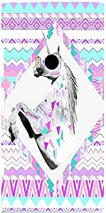 Snoogg HORSE AZTEC Case Cover For Nokia Lumia 920