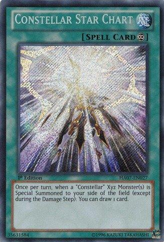 Yu-Gi-Oh.–Constellar Star Diagramm (ha07-en027)–Hidden Arsenal 7: Knight of Stars–Unlimited Edition–Secret Rare von Yu-Gi-Oh. (Oh Diagramm)