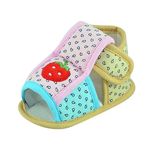 Instabuyz Infant White Soft Fabric Sandal (6-18 Months)