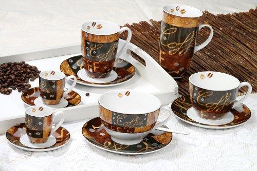 Kaffeebecher 320ml 6er Set Chile