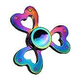 Samidy Fidget Spinner Rainbow, Hand Spinning Toy EDC Focus