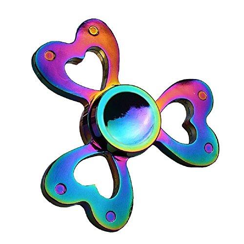 Samidy Fidget Spinner Rainbow Hand Spinning Toy EDC Focus Stress Reducer