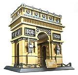 Triumphbogen von Paris Arc de triomphe. Architektur Modell zum Bauen mit 1401 Bausteine