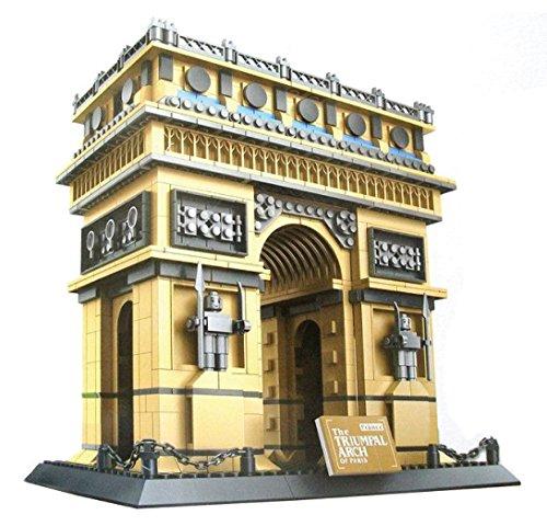 WANGE Arco Triunfo París. Modelo Arquitectura armar
