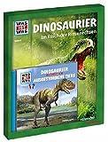 Geschenk-Set Dinosaurier: WAS IST WAS Buch, Hörspiel, Poster (WAS IST WAS Geschenksets)