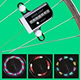 #7: New Arrival 14 LED Bicycle Cycling Wheel Bike Signal Tire Spoke Light 30 Automatic Lights Changes (01 Pair, 2 Pcs.)