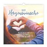 Postkartenkalender 2019 Herzenswünsche