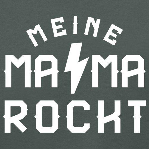 Meine Mama rockt - Damen T-Shirt - 14 Farben Dunkelgrau