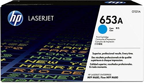 Preisvergleich Produktbild HP 653A (CF321A) Blau Original Toner für HP Color Laserjet Enterprise M680