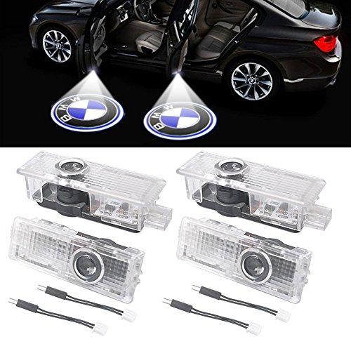 Preisvergleich Produktbild 4 Stücke Auto Tür Led-beleuchtung Eintrag Projektor Courtesy Willkommen Lampe Schatten Logo Licht einfach zu installieren (4 PCS)