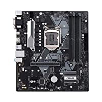 ‏‪Asus Prime B365M-A LGA-1151 Support 9th/8th Gen Intel Processor with Aura Sync RGB Header, DDR4 2666MHz, M.2 Support, HDMI, SATA 6Gbps mATX Motherboard‬‏