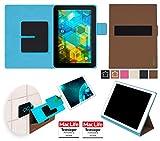 reboon BQ Edison 3 Hülle Tasche Cover Case Bumper | Braun | Testsieger