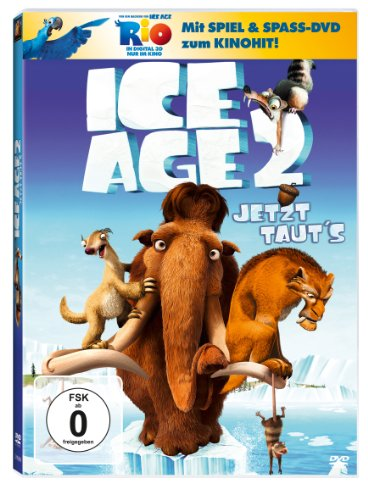 Ice Age 2 - Jetzt taut's (+ Rio Activity Disc) [2 DVDs]
