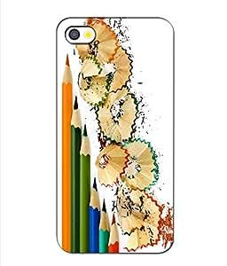 Crazymonk Premium Digital Printed 3D Back Cover For Apple I Phone 4