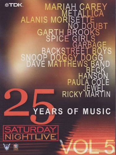 Saturday Night Live - 25 Years Of Music (1995-2000) Volume 5 [Alemania] [DVD]