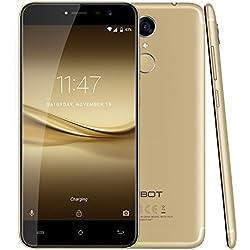 "CUBOT Note Plus(2017) - Smartphone Libre 4G Android 7.0, (Pantalla táctil 5.2"" HD, 2800mAh batería, 3GB Ram + 32GB ROM, Quad core, Dual SIM, Cámara 16Mp, 1.5 GHz),dorado [ CUBOT OFICIAL ]"