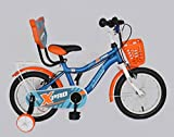 #7: Kross X Pro 14inches Sporty 2018 Bike For Kids Age of 3-5yrs Blue&Orange 14 T Single Speed Recreation Cycle (Multicolor)
