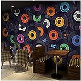 3D wallpaper Benutzerdefinierte Wandbild Tapete Moderne Mode Album Collage Tapete Bar Cafe Ktv Wohnzimmer Hintergrund Wandbild Tapeten Wohnkultur Kleber senden 300X210cm