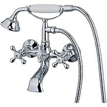 EISL Grifo mezclador de dos válvulas para llenado de bañera y ducha Nostalgie II, NI023NO2CR