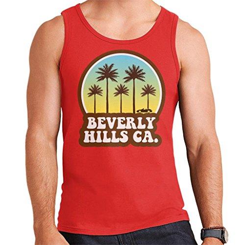 Beverly Hills California 70s Beach Drive Men's Vest