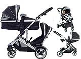 Kinder Kargo Duell DS Combo Tandem Twin Kinderwagen Neue skinnie minnie Design
