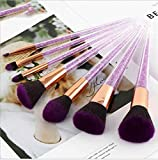 Make Up Pinsel Make Up Pinsel Set Der Kosmetikpinsel7 Lila Kristall Make-Up Pinsel Schwarzer Lila Diamant Make-Up-Pinselsatz