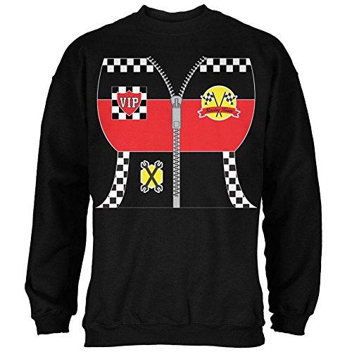 Halloween-Hot Rod Kostüm Racing Herren Sweatshirt schwarz X-LG