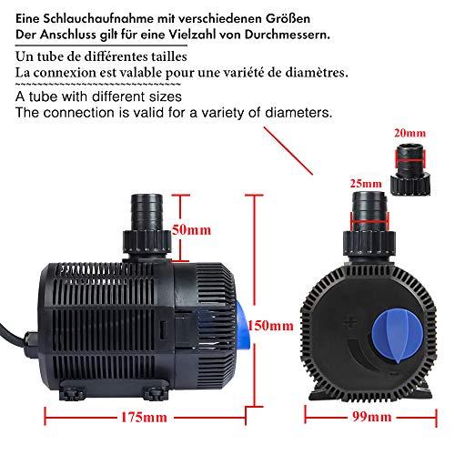 Zoom IMG-3 yorbay cqb 2000 pompa per