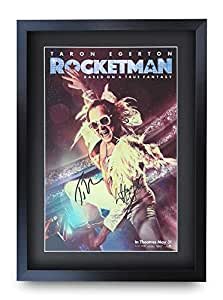 Film Art Print A4 A3 ROCKETMAN 2019 Elton John Movie Poster