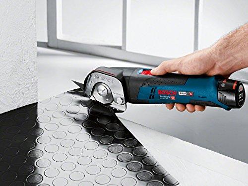 Bosch Professional GUS 12 V300 Akku-Universalschere (ohne Akku, click&go, ohne Ladegerät in L-BOXX) 06019B2905