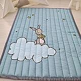YACAOS Buntes Babyspielauflage 140X200X3 cm starker starker faltender Spiel-Decken-Schlafzimmer-Teppich Baby-Teppich 2