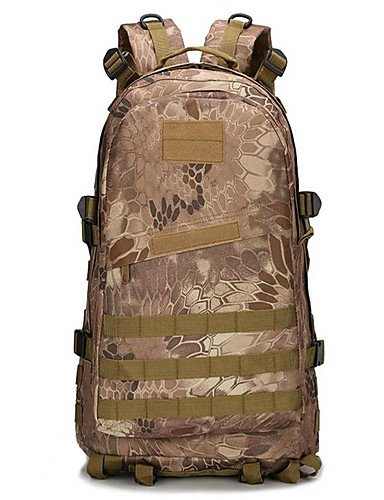 ZQ 2 L Rucksack Camping & Wandern Draußen Multifunktions Armeegrün Nylon Other jungle camouflage