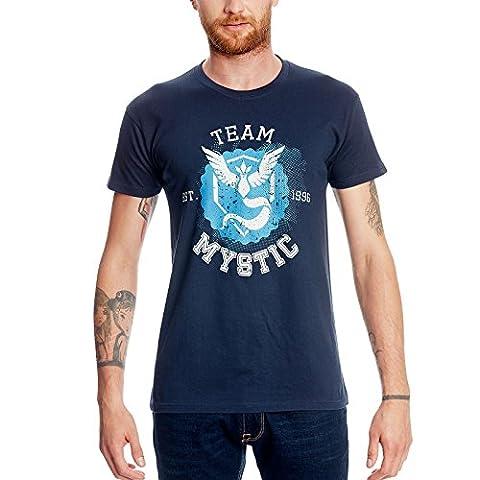 T-shirt Team Mystic pour fans de Pokemon Go Elbenwald coton
