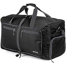OUTAD Reisetasche - faltbare, 50l große Reisetasche ist beständig, packbar, SUPERLEICHTE 410g - lässt sich in sich falten - am besten als Gepäck oder Sporttasche