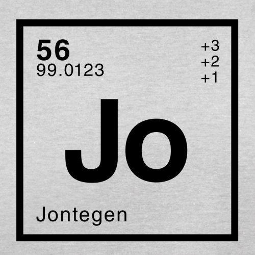 Jonte Periodensystem - Herren T-Shirt - 13 Farben Hellgrau