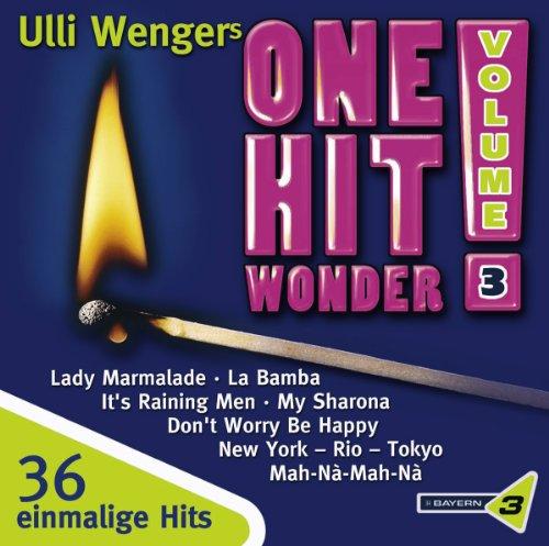 Preisvergleich Produktbild Bayern 3: Ulli Wengers One Hit Wonder,  Vol. 3: Macarena / My Sharona,  High Energy,  Runnaway Train / La Bamba / It's Raining Men / Dont Worry Be Happy