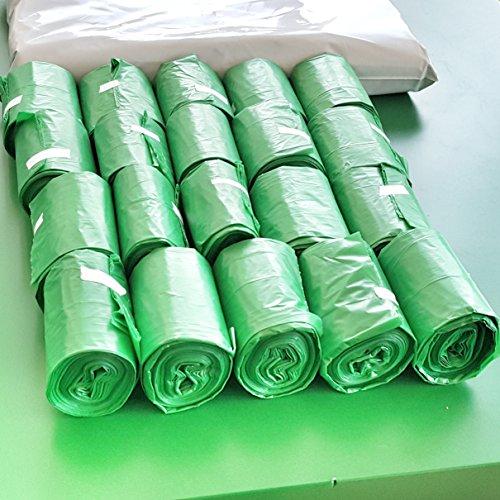 300 bolsas Premium Biodegradables para residuos de perro I Bolsas Extra grandes, extra gruesas, a prueba de fugas y perfumadas | 20 rollos de relleno con 15 bolsas por rollo